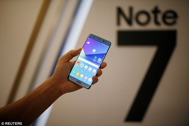 The Tech Giant Samsung Ceases Production of Galaxy Note 7
