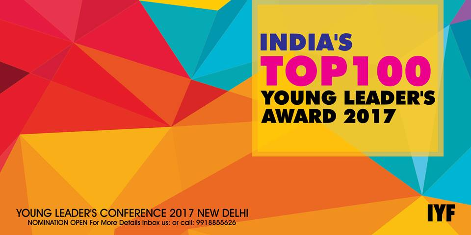 India's Top 100 Young Leaders Awards