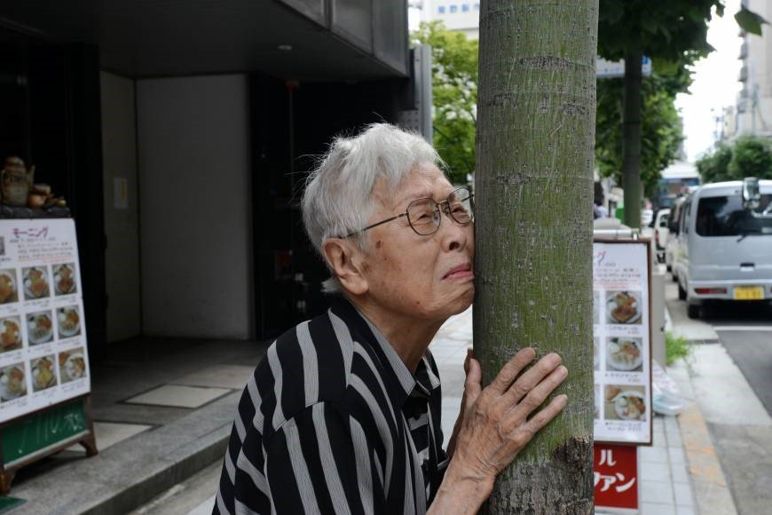 A lost dementia patient in Japan