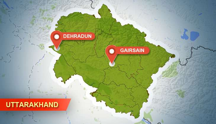 Gairsain instead of Dehradun