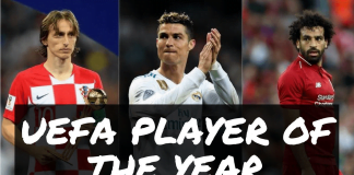 UEFA Player of The Year 2018