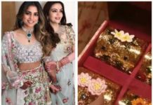 Isha Ambani's Wedding Invite