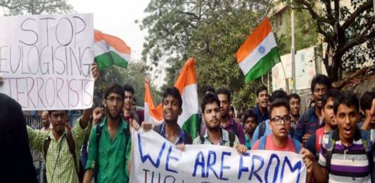 Indian Nationalists and Anti Nationalists
