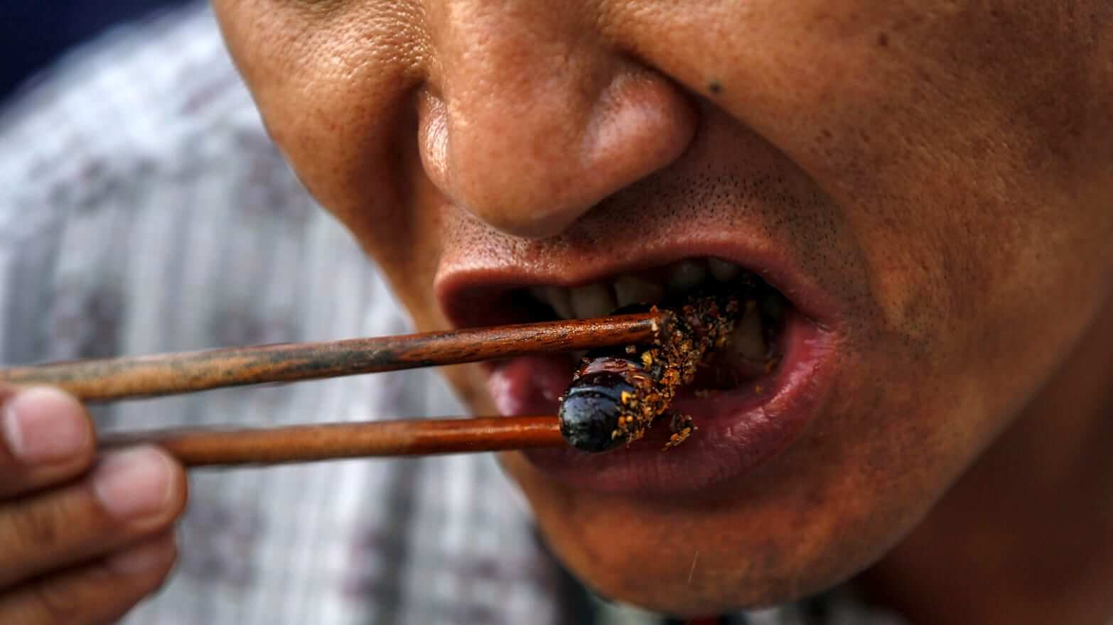 Could Eating Bugs Lead To A Powerful Race That Can Outlive Others?