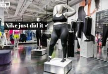 nike's plus sized mannequins