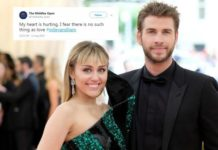 Liam Hemsworth Miley Cyrus Breakup
