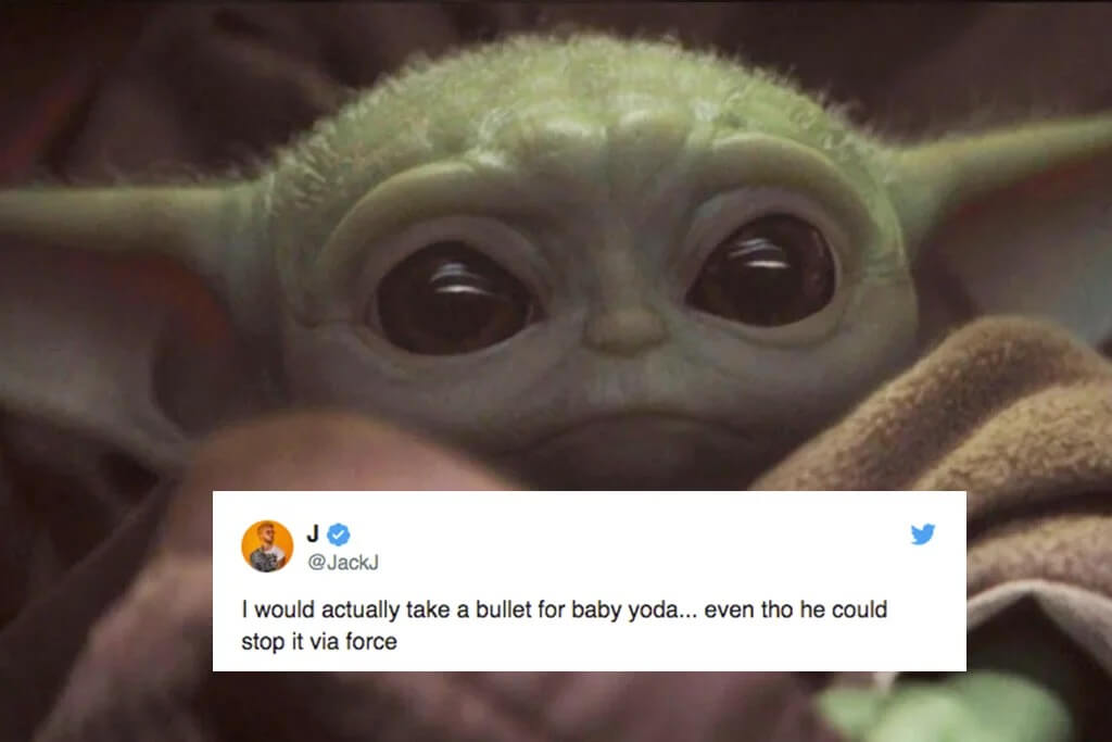 These Baby Yoda Tweets Prove How The Mandalorian Character