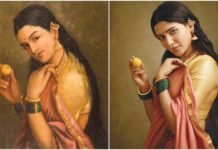 Raja Ravi Varma recreation